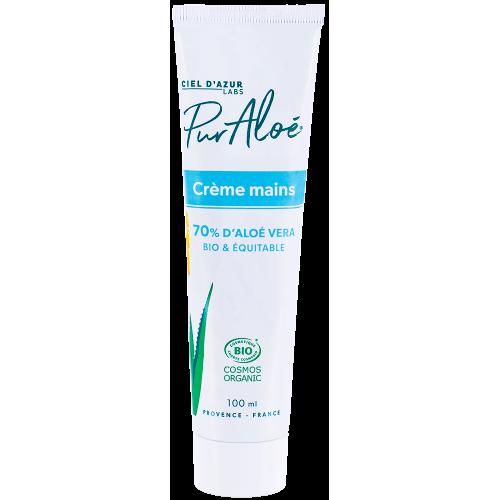 Pur'Aloé Crème mains - Aloé Vera 70% - 100ml