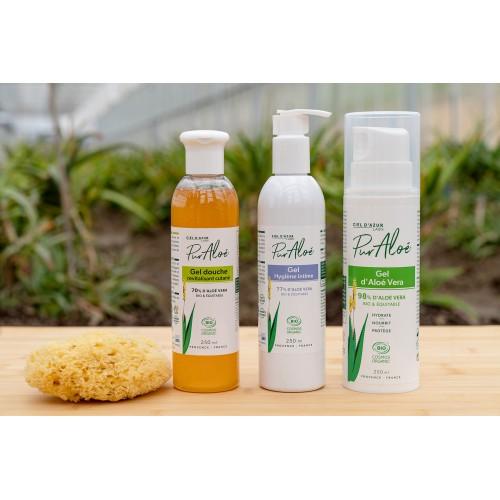 Pur'Aloé Gel hygiène intime - 77% Aloé Vera - 250ml