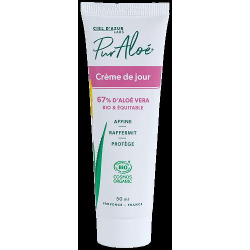 Pur'Aloé Crème de jour - 67% Aloé Vera - 50ml