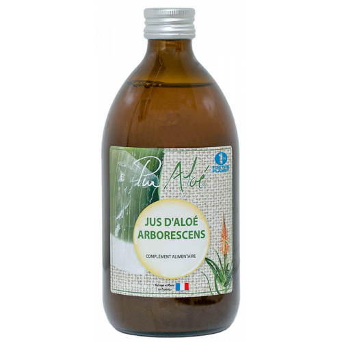 Jus d'Aloé Arborescens 500ml